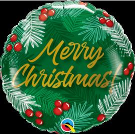 "09"" Christmas Greens & Berries (Minimo 5 unid)"