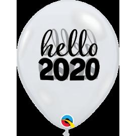 "11"" Sinply Hello 2020 (25ct )"