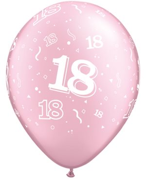 18-A-Round Pearl Pink