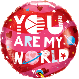 """18"""" You Are My World (Minimo 3 unid)"""
