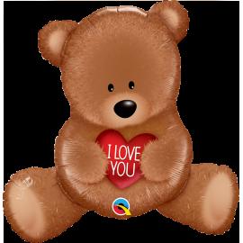 """35"""" I love You Teddy Bear (Minimo 3 unid)"""