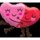 "36"" Hugging Hearts (Minimo 3 unid)"