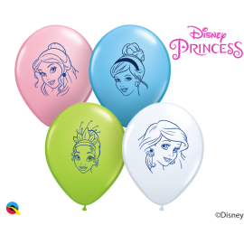 "5"" Disney Princess Faces (100ct)"