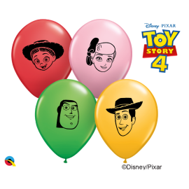 "5"" Disney & Pixar Toy Story 4 faces (100unid)"