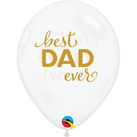 "11"" Best Dad Ever (25ct)"