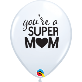 "11"" Super Mom (25ct)"