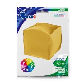 "15"" Cubo, Gold 4d (38cm) (minimo 3 unid)"