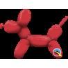 "14"" Balloon Dog Red (01ct) Minimo 5 unid (Aire termiselladora)"