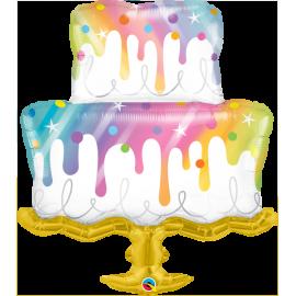 "39"" Rainbow Drip Cake (01ct) Minimo 3 unid"