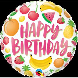 "18"" Birthday Fruits (01ct) Minimo 3 unid"