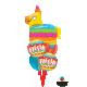 "18"" Fiesta Rainbow Stripes (01ct) Minimo 3 unid"