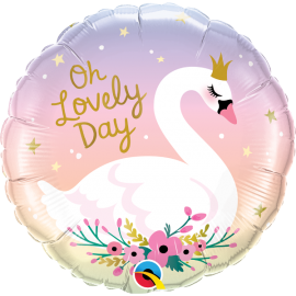 "18"" OhLovely Day Swan (01ct) Minimo 3 unid"