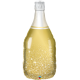 "39"" Golden Bubbly Wine Bottle (01ct) Minimo 3 Unid"