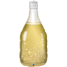 "39"" Golden Bubbly Wine Bottle (01ct) Minimo 3 Unid"