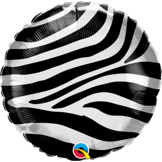 "18"" Zebra Stripes Pattern (01ct) Minimo 3 unid"