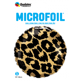 "18"" Leopard Spots Pattern (01ct) Minimo 3 unid"