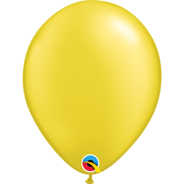 """11"""" Prl Citrine Yellow (100ct) Perlado Amarillo Citrico"""
