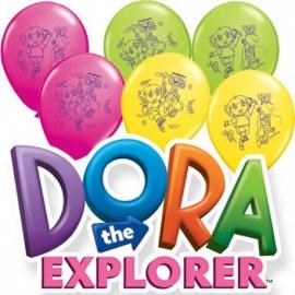 """11"""" Dora exploradora (25 unid)"""