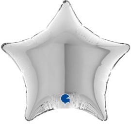 """04"""" Estrella Silver (01ct) Minimo 10 Unid"""