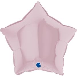 """09"""" Estrella Pastel Pink (01ct) Minimo 10 Unid)"""