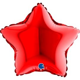 """09"""" Estrella Red (01ct) Minimo 10 Unid)"""