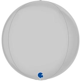 """15"""" Globe Esfera Satin White 4d (01ct) Minimo 3 unid"""