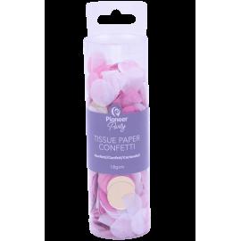 Confettti Tissue Paper 18G Pink White Gold