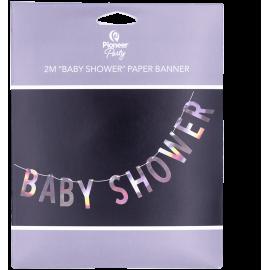 Banner Baby Shower Iridescent 2m (01ct)
