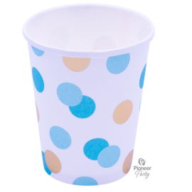 Cups Papel Blue & Gold (08ct)