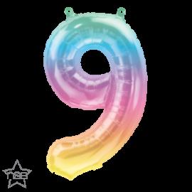 """16"""" Numero 9 Jelli Ombre (01ct)"""