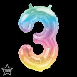 """16"""" Numero 3 Jelli Ombre (01ct)"""