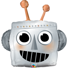 "35"" Shape Robot Head (01ct) (Minimo 3 unid.)"