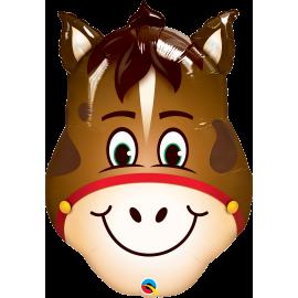 "32"" Shape Hilarious Horse (1Ct) (Minimo 3 unid)"