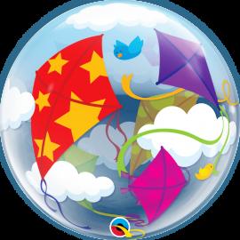 "22"" Single Bubble (01Ct) Kites In Flight (Minimo 3 Unid.)"