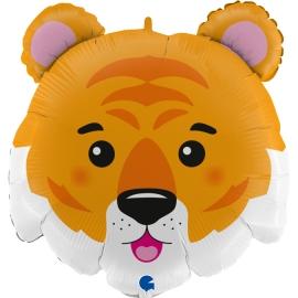 "28"" Tiger Head 3D (1Ct) (Minimo 3 unid.)"