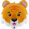 3D TIGER HEAD (1CT) (Minimo 3 unid.)