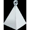 Pyramid balloon Weight Silver (Contrapesos) (Mínimo 12 unid.)