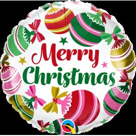 "18"" Christmas Ornaments & Stars (01Ct) (Mínimo 3 Unid.)"