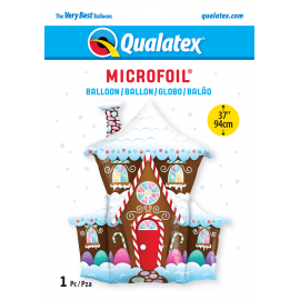 "37"" Shape Decorated Gingerbread House (01Ct) (Mínimo 3 Unid.)"