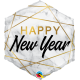 """20"""" Hexagon New Year Marble Rectangles (01Ct) (Mínimo 3 Unid.)"""