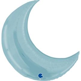 """36"""" Moon Pastel Blue (01Ct) (Mínimo 3 Unid.)"""