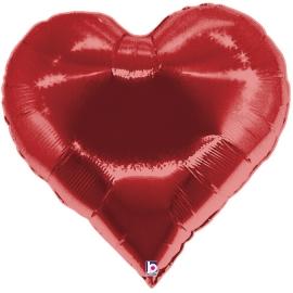 "30"" Casino Heart (01Ct) (Mínimo 3 Unid.)"