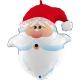 "26"" Curious Santa Head (01Ct) (Mínimo 3 Unid.)"