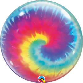 "22"" Single Bubble (01Ct) Tie Dye Swirls (Mínimo 3 Unid.)"