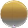 "22"" Globe Esfera Metallic Ombre (01 Ct) (Mínimo 3 Unid.)"