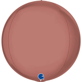 """15"""" Globe Esfera Platinium Rosé 4d (01ct) Minimo 3 unid"""