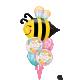 "38"" Shape Sweet Bee (01Ct)"