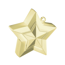 Star Balloon Weight Soft Gold (01ct)