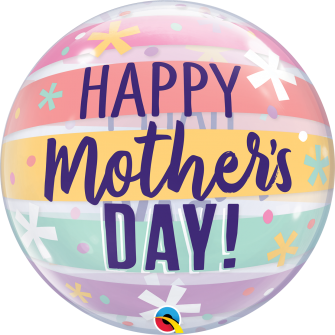 """22"""" Mother´s Day Pastel Stripes (01ct)"""