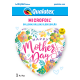 """18"""" Mother´s Day Spring Floral (Minimo 3 Unid)"""